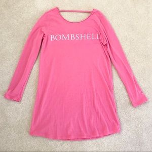 Victoria Secret Sleep Shirt Bombshell Pink